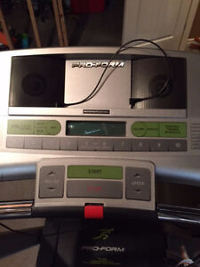Treadmill - like new - used mainly for hanging my clothes :) :)