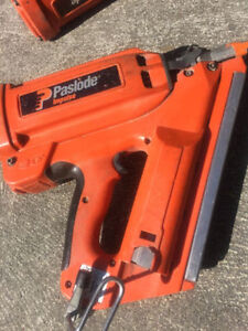 3 Gently used Paslode Impulse 900420 Pro framing nailers