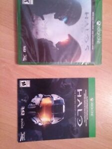 halo 5 neuf emballe avec master chief collection