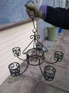 Miscellaneous wrought iron pieces