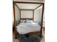 Gorgeous Four Poster West Elm Bed Frame