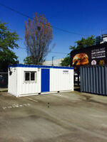10 x 40 and 8 x 20 Steel Container Office's for Sale