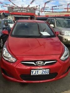 2013 Hyundai Accent RB3 SR Red 6 Speed Manual Hatchback Braddon North Canberra Preview