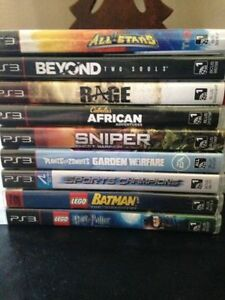 9 PS3 GAMES - $20 EACH
