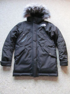 THE NORTH FACE PARKA MANTEAU DUVET HYVENT HOMME S/P NOIR NEUF