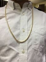 MENS SOLID GOLD CHAIN