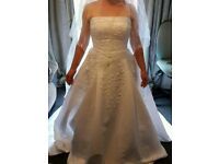 Alfred angelo white wedding dress