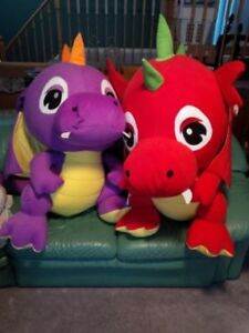 Brand new stuffed toy dragons! looks like Pokemon characters