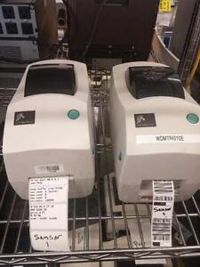 LOT OF 2 Zebra TLP 2824  Label Printer  PARALLEL