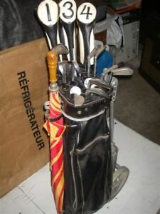 RIGHT HAND SET OF MENS GOLF CLUBS