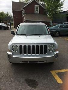 2008 Jeep Patriot limited, certified, leather , sunroof , alloy,