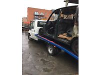 FORD TRANSIT RECOVERY VEHICLE NEW VEHICLE RAMP AND WINCH