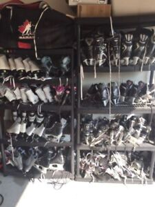 HOCKEY SKATES YOUTH BOY GIRLS KIDS ADULT 11 13 1 2 3 4 5 6 8 9 M