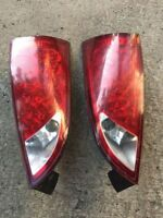 Tuning Ford Focus 2005 ZX5 RED LED TAIL LIGHTS