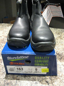 BLUNDSTONE BLACK SHOES MENS SIZE 10 Kitchener / Waterloo Kitchener Area image 1