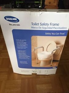 Brand New Never Used - Safety Toilet Frame
