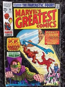 Marvel's Greatest Comics: 39 issues of these FF reprints