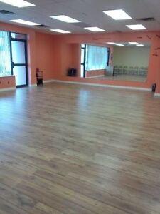 Dance and Fitness Studio Rental