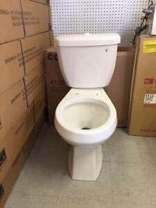 Dual flush toilets $100