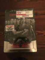 The Expendables 1 and 2 Brand New Future Shop Steelbooks Blu-Ray