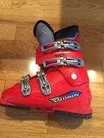 salomon falcon 60 junior ski bottes, grandeur 23-23.5