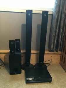 LG Surround Sound Entertainment System with SubWoofer and Wiring