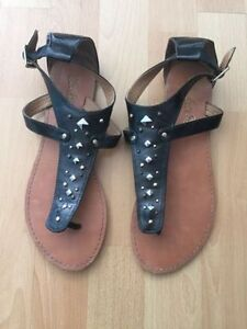Leather Sketchers Sandals- size 9
