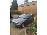 2000 BMW 318I SE AUTOMATIC, LONG MOT...DRIVE AWAY, NO MESSERS AND NO TEXT MESSAGES