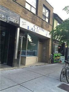 Queen/Bathurst St coin laundromat for sale