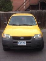 2003 Ford Escape xls SUV, Crossover