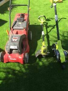 Mower,whipper snipper and edger Yangebup Cockburn Area Preview