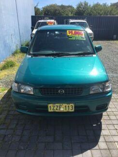 1998 Mazda 121 Green Automatic Hatchback