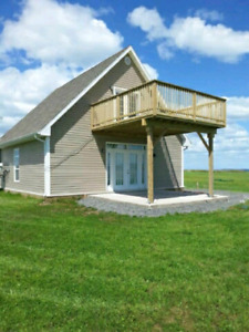 Beautiful ocean front chalet for sale