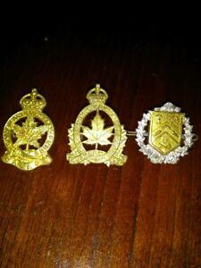 Badge militaire soldat canadienne ww2 deuxième guerre 60$ pour l