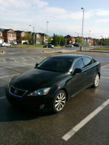 2008 Lexus IS 250. Low km 124K. $13,800. Senior Driven.