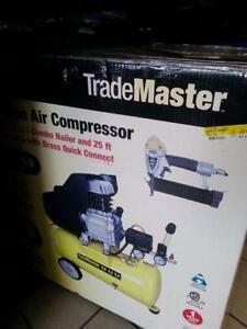 Trade Master Compressor/Nailer kit.We sell used tools. (#37333)