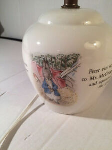PETER RABBIT BEATRIX POTTER LAMP Kitchener / Waterloo Kitchener Area image 3
