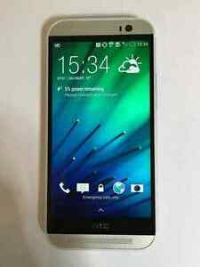 FOR SALE LIKE NEW HTC-M-8/UNLOCKED/ACCESSORIES