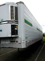 1988 Utility 48 ft Reefer Trailer, Make me an offer