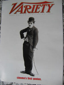 Variety  promotional kit Charlie Chaplin 2003