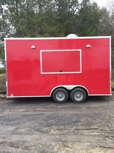 Brand new 2017 18 FT Concession Trailer / Food Truck!