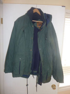 Winter coat, men's L