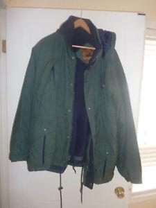 Winter coat, men's L