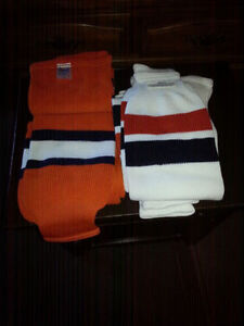 4 pairs of new large thick hockey socks