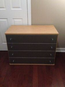 Wood Design & Silver Detail Dresser
