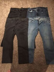 4 Pairs of 40X32 Jeans