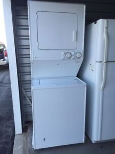 Used Stacked Washer/Dryer $595.00..Warranty.....416 473 1859