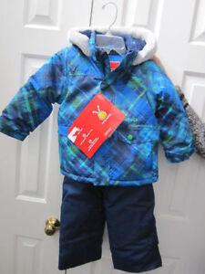 Snowsuit, Boys size 3T Krickets 2-piece, BNWT