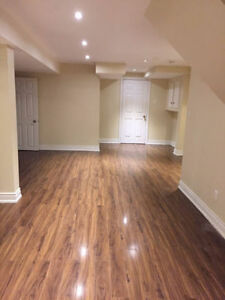Clean, spacious basement apartment for rent.
