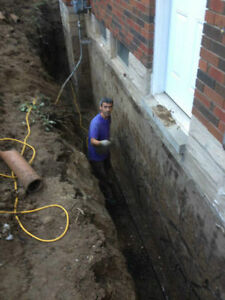 WATERPROOFING WET/LEAKY BASEMENT -FOUNDATION REPAIR. Kitchener / Waterloo Kitchener Area image 2